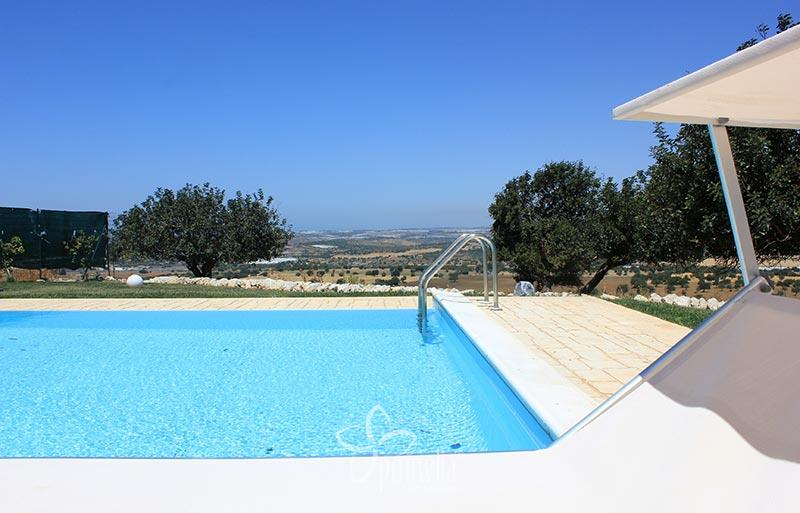 Atena, villa with view and a panoramic swimming pool - Overview