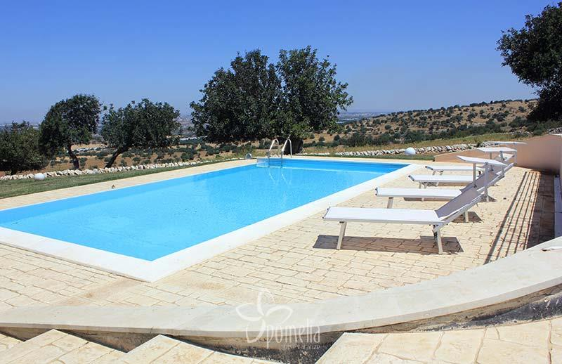 Atena, villa with view and a panoramic swimming pool - Swimming Pool