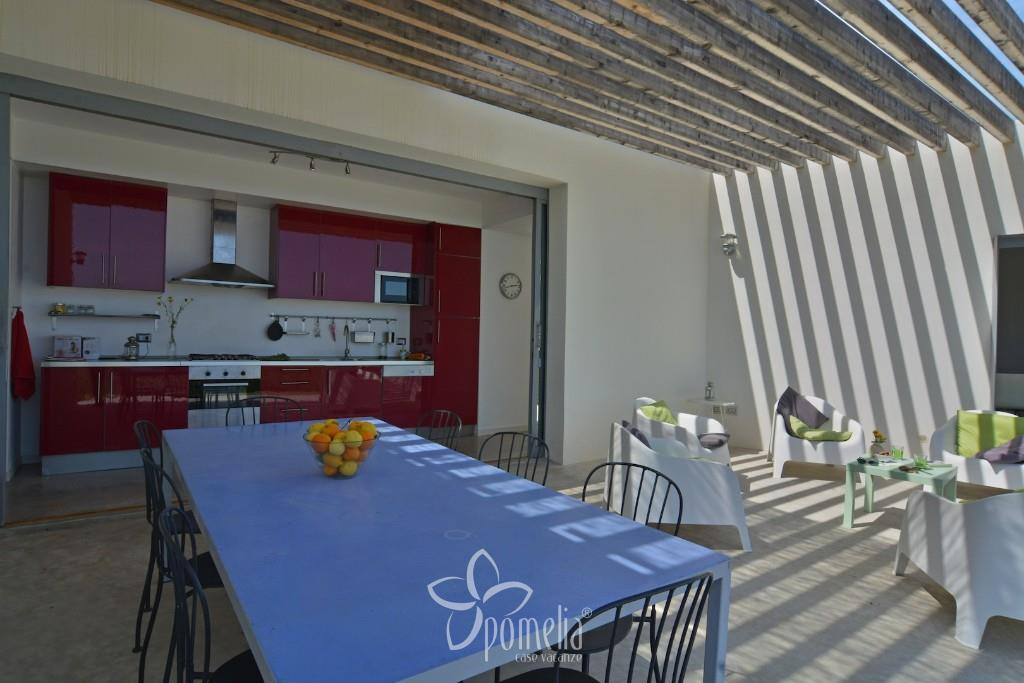 Cavaliere, villa with pool 2 km from Noto - Kitchen