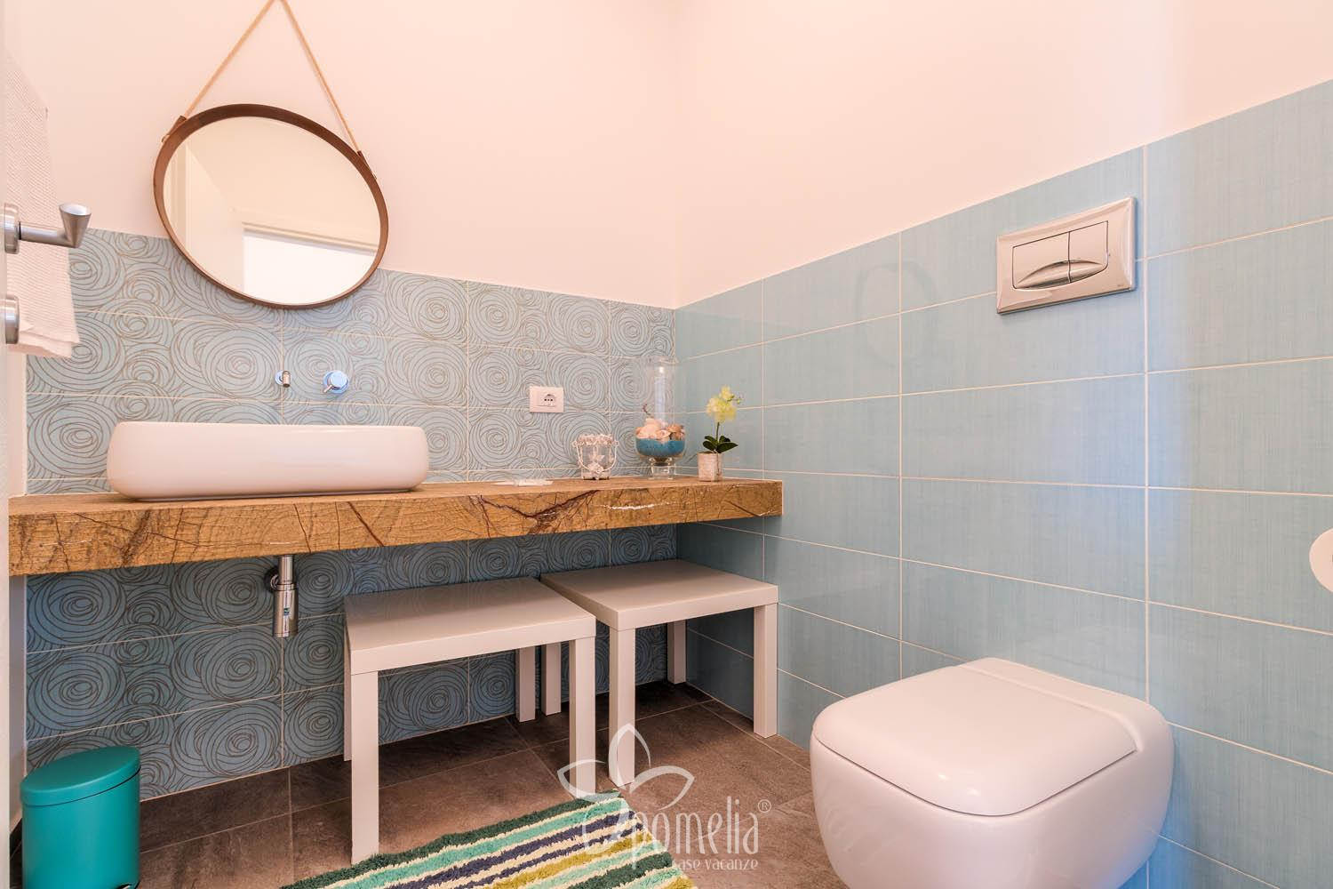 Dafne, villa with pool and garden 300 meters from the beach of Caucana - Bathroom