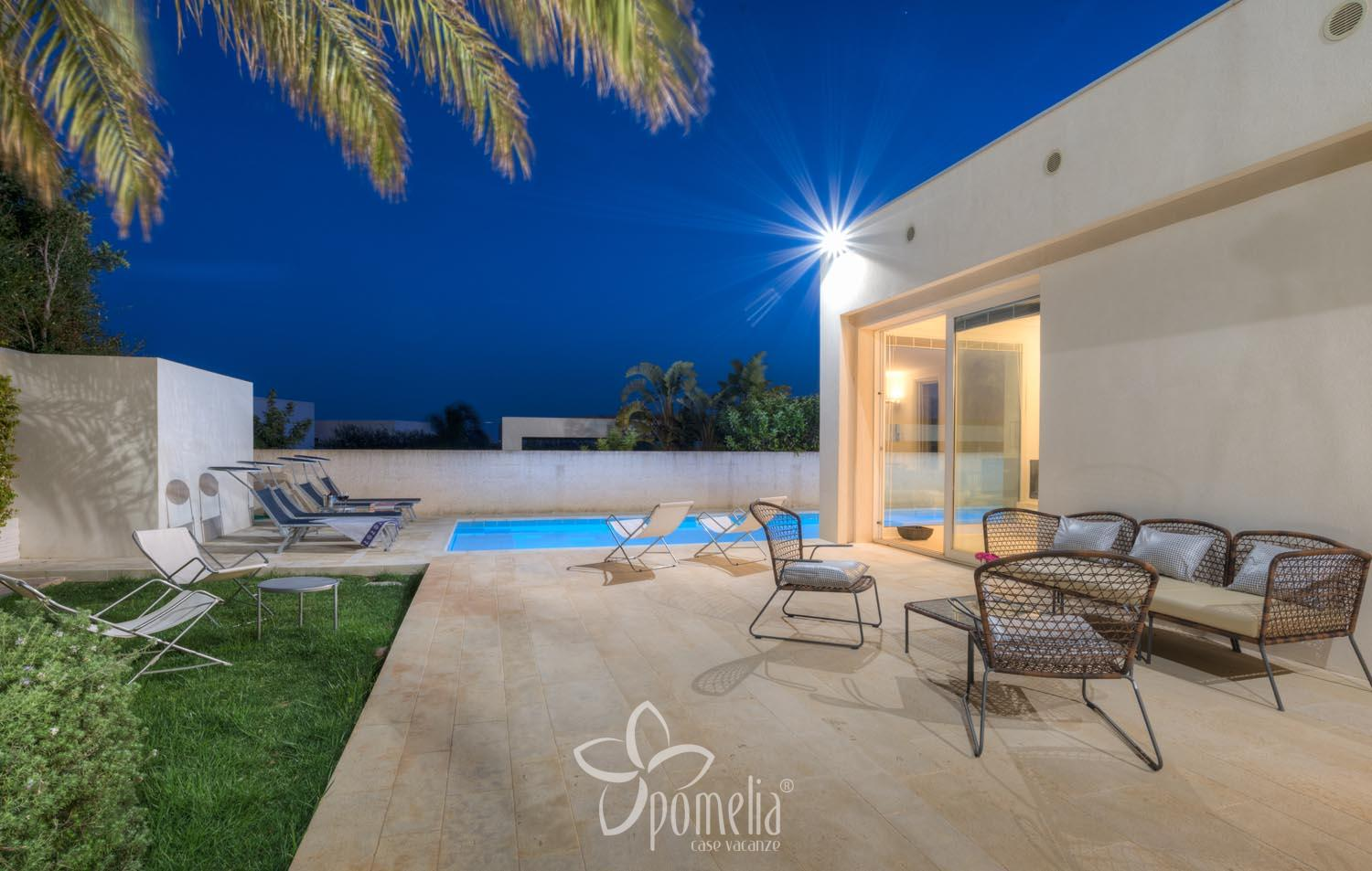 Euterpe, villa with pool close to the centre of Marina di Ragusa - Overview