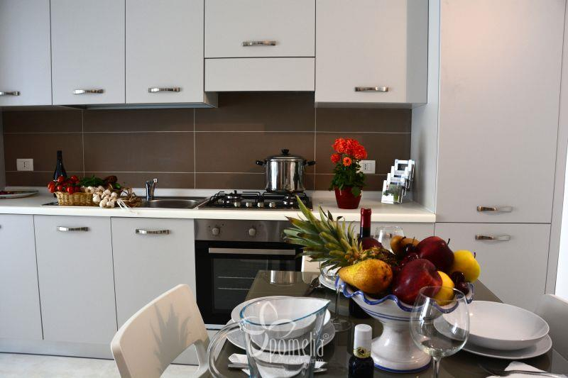 Gea, apartment 20 mt from the beach in the centre of Marina di Ragusa - Kitchen