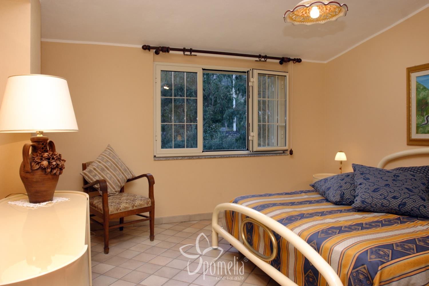 Marena, villa at 50 mt. from the beach in Gioisa Marea (Messina) - Double room